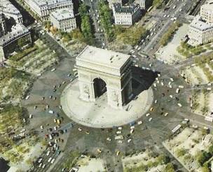 究極のラウンドアバウト_パリ・シャルル・ド・ゴール広場