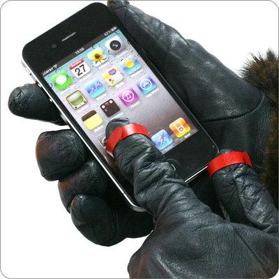 シュアタッチ 赤 手袋