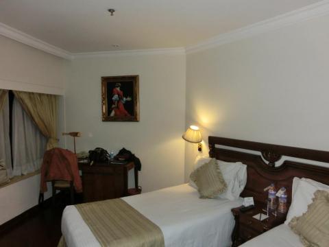 デリーホテル客室