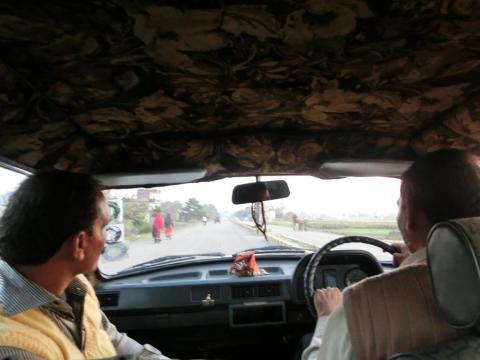バラナシで乗ったタクシー