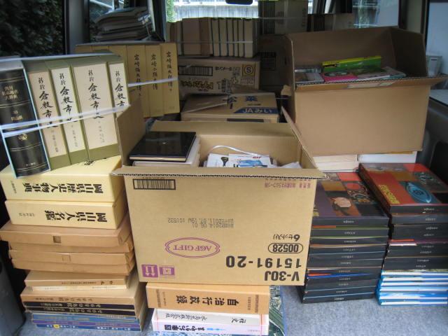 歴史本、美術書、倉敷の郷土史