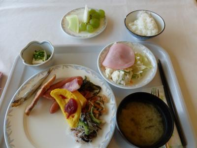 ホテル朝食バイキング 2013 9・8