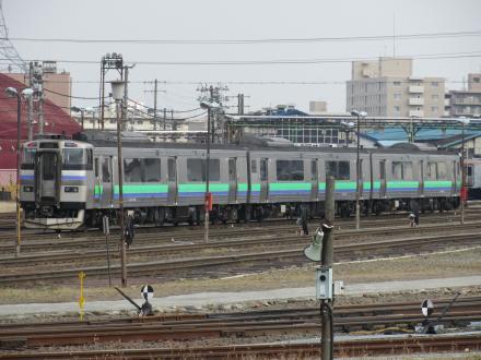 キハ201系普通列車