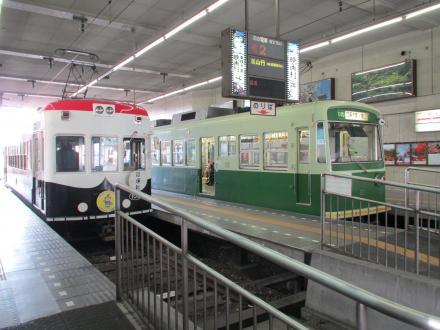 四条大宮駅ホーム