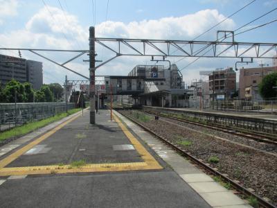 高田駅ホーム