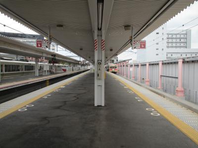 奈良駅ホーム