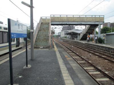 香芝駅ホーム