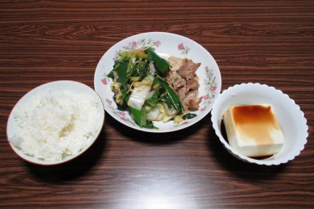 余り物昼食