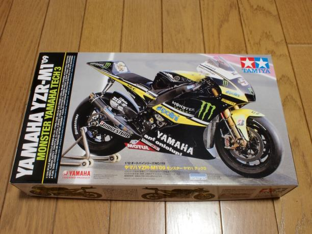タミヤ YAMAHA YZR-M1'09 MONSTER YAMAHA TECH 3