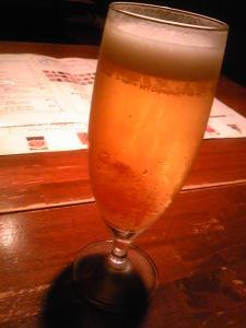 「ビール」ピッツェリア・ファリーナ(福岡市)