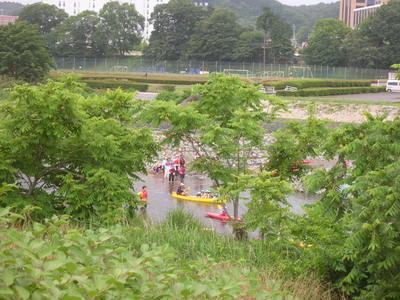 川遊び-2