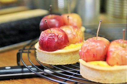りんごのシナモンタルト