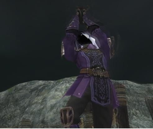 紫電、劈く