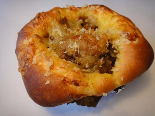 手作りビーフカレーパン