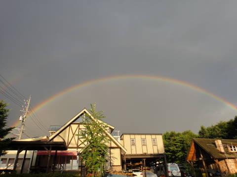 ダブルの虹