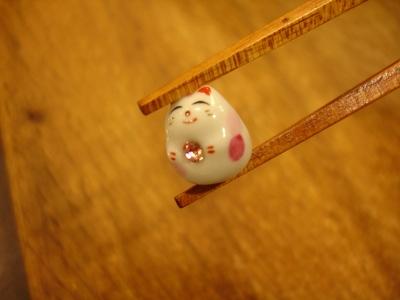 箸&招き猫