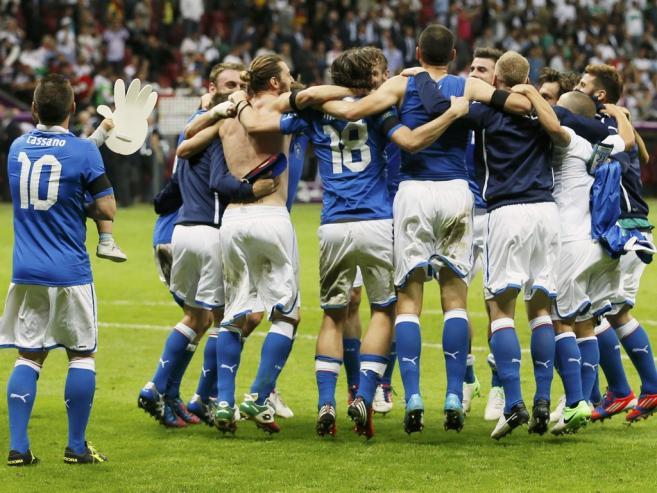 イタリア勝利。