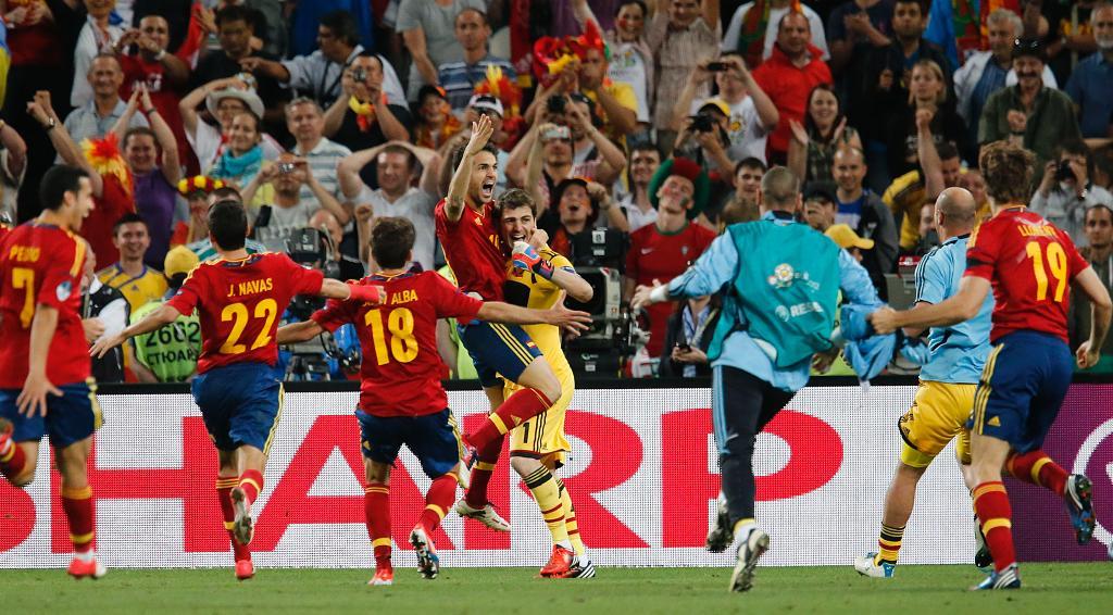 スペイン決勝進出!