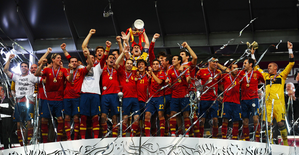 スペイン優勝!!