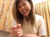 無修正 女子高○21人が制服で手コキする100分映像