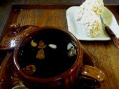 双和茶 (または雙和茶・サンファ茶) & 薬菓(ヤッグァ)