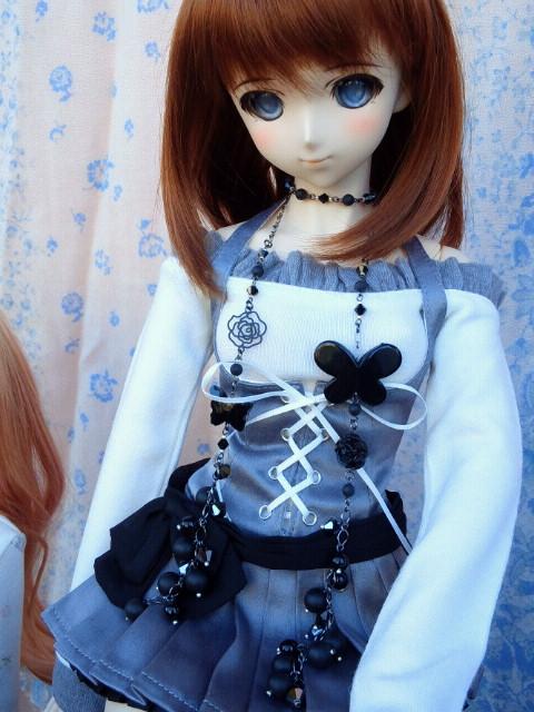 遥佳さん黒蝶とクリスタライズのラリエット1