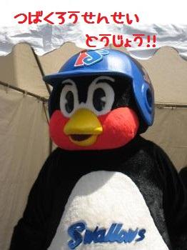 つば九郎先生