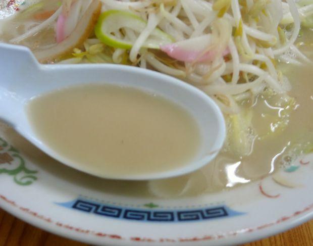 『福龍』元祖 戸畑チャンポン(スープ)