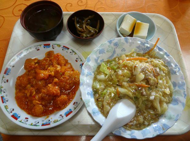 『吉祥飯店 長浜店』日替定食(650円)