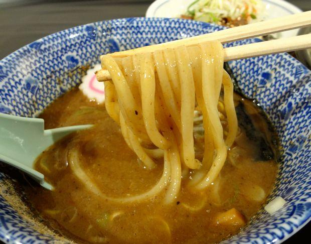 『中華蕎麦 とみ田@博多阪急催事』つけそば(つけ汁につけて麺リフト)