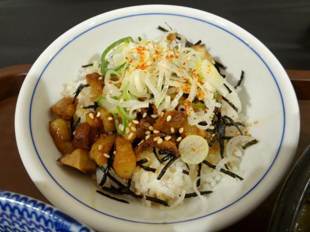 『中華蕎麦 とみ田@博多阪急催事』炙り肉飯(201円)