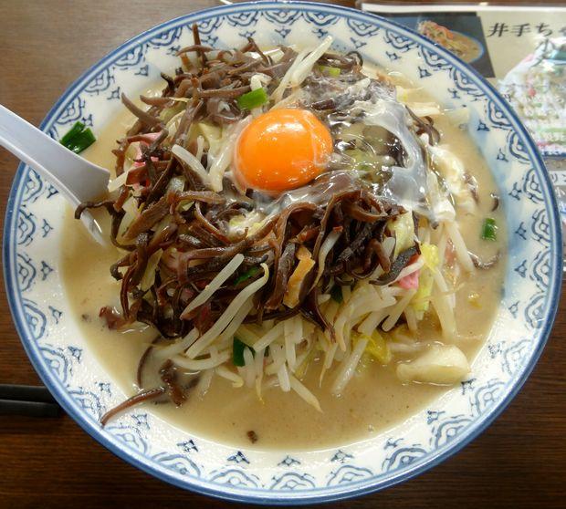 『井手ちゃんぽん 小戸店』特製ちゃんぽん(850円)