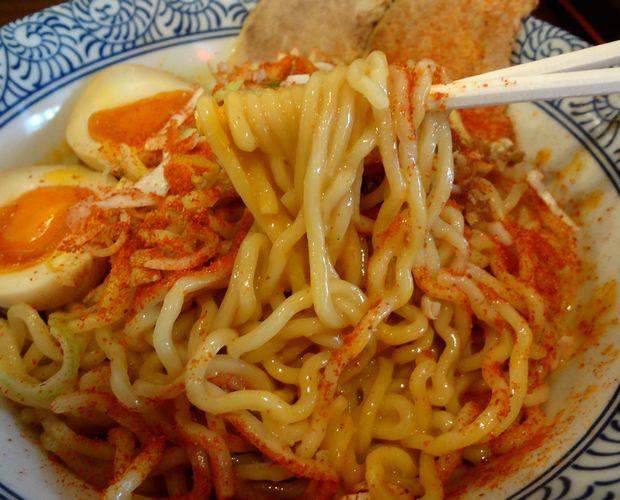 『中華蕎麦 翠蓮』汁なし担担麺(麺リフト)