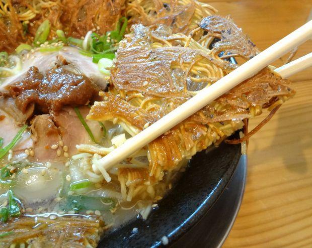 『壱の家』豚骨焼麺(焼麺リフト)