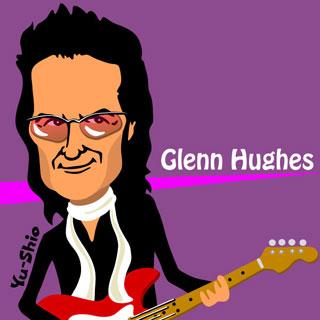 Glenn Hughes caricature