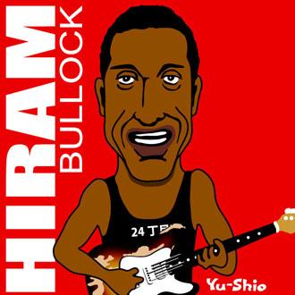 Hiram Bullock caricature