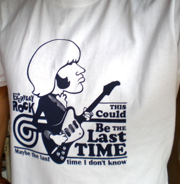EverydayRock T Shirt Brian Jones Caricature