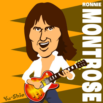 Ronnie Montrose caricature