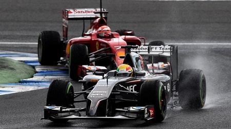 2014年F1ヘレステスト2日目