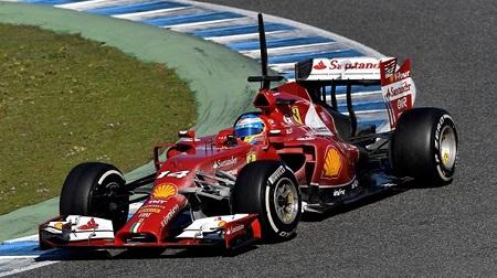 2014年F1ヘレステスト3日目