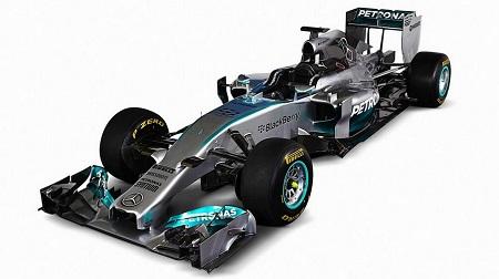メルセデス新車「W05」発表
