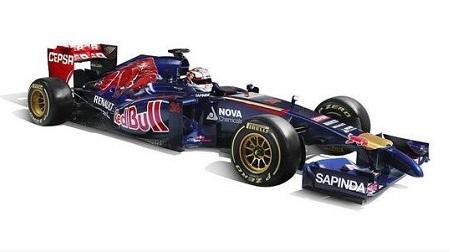 トロロッソ新車STR9