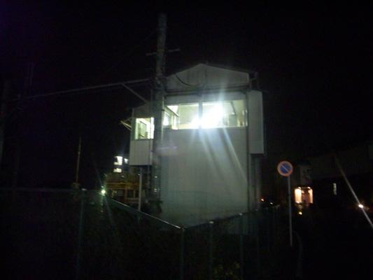 130323旭町駅夜間作業 (1)のコピー