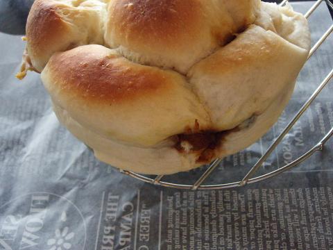 カレーライスのパン