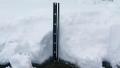 積雪25センチ