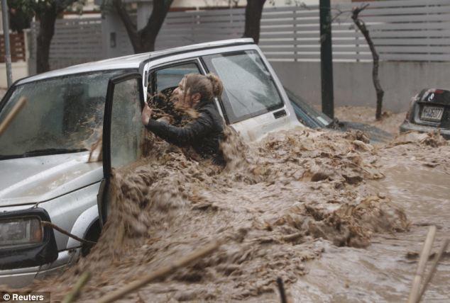 義理者50年に一度振り降り大洪水♥朕咲ッく♥沈没・・・