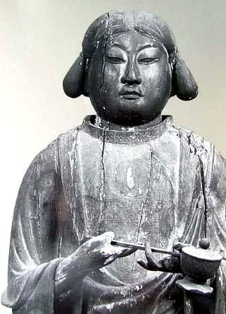 0605-05聖徳太子廟の謎目の玉がない仏像