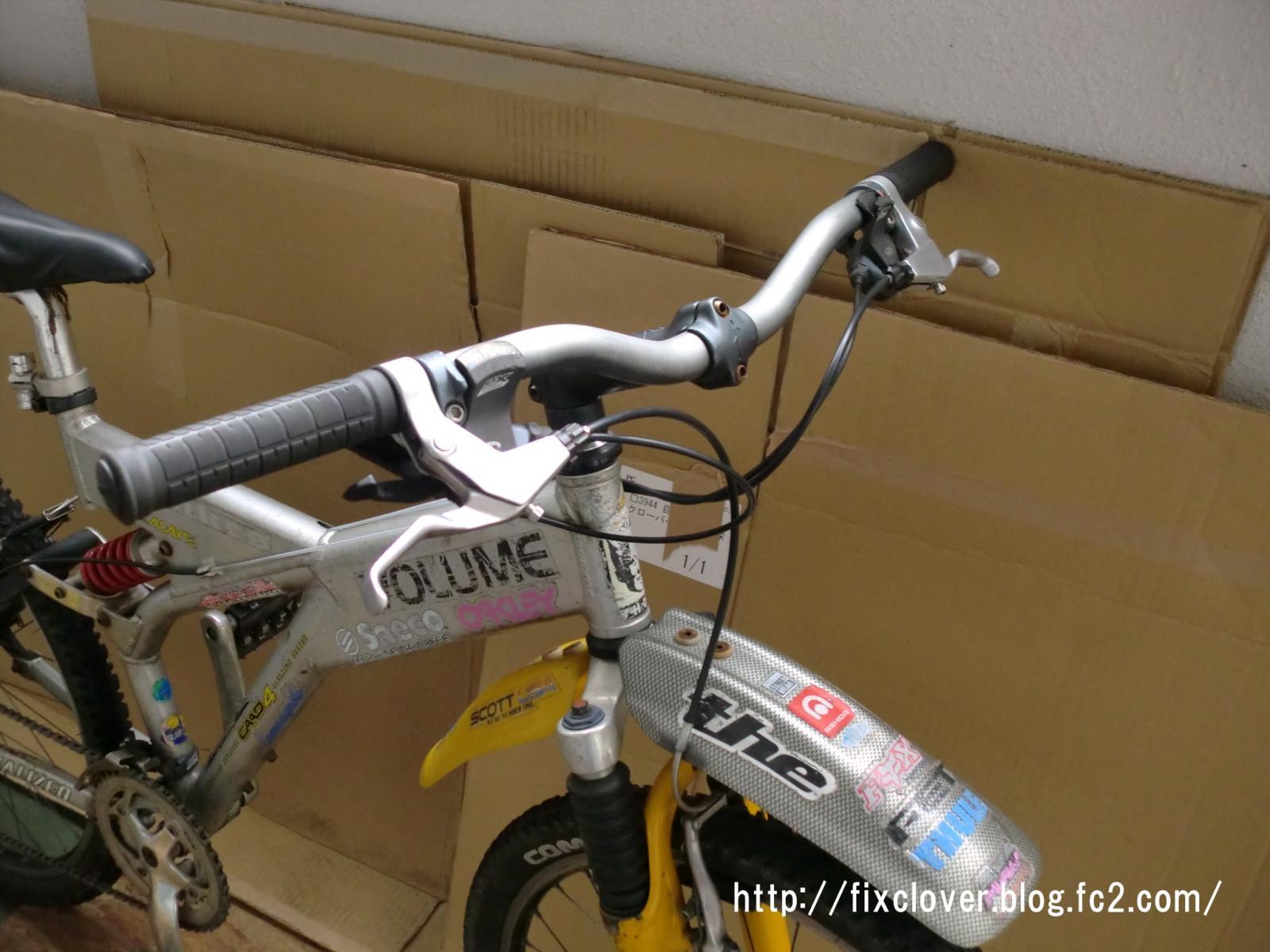自転車の 自転車 値段の違い : ブレーキレバーの表面の研磨も ...