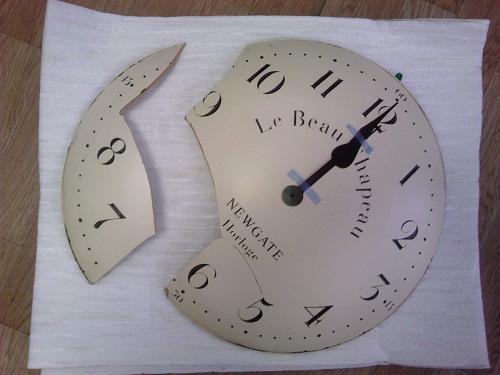 時計 補修前