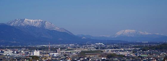 130304藤原岳と伊吹山